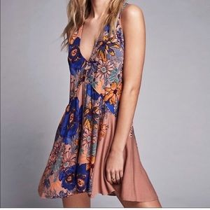 Free People Floral Tunic Dress Size M